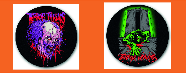 Slipmat designs by Terror Threads